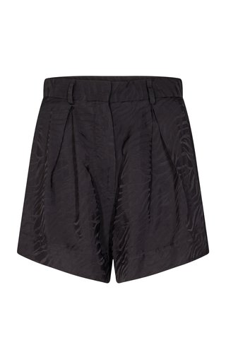 Katian Pleated Eco Crepe Shorts