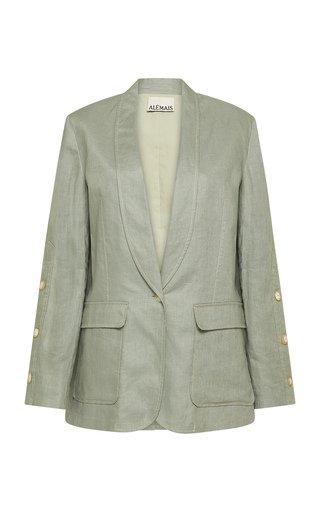 Ivy Oversized Linen Blazer