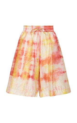 Uma Cotton-Silk Shorts