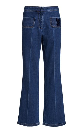 Rigid High-Rise Straight-Leg Jeans