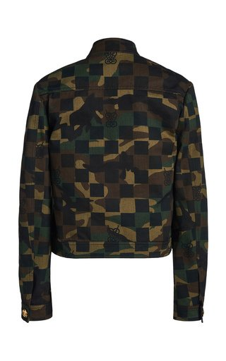 Camo Checked Jacket