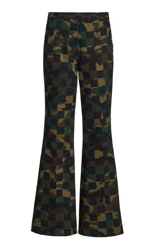 Camo Checked Pants