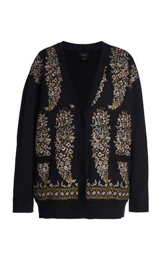 Paisley Knit Cardigan