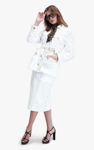 Sahara Belted Cotton Safari Jacket