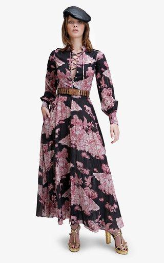 Belle Printed Cotton Dress