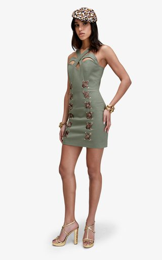 Kenya Fitted Cotton Dress