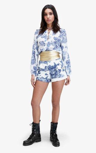 Tilley Printed Cotton Shorts