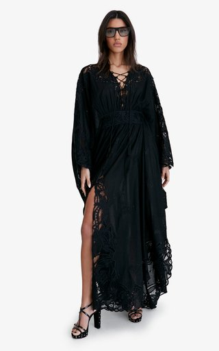 Nicks Lace-Detailed Cotton Dress