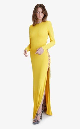 Nirvana Cutout Jersey Dress