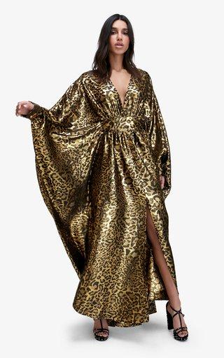 Nicks Metallic Lurex Dress
