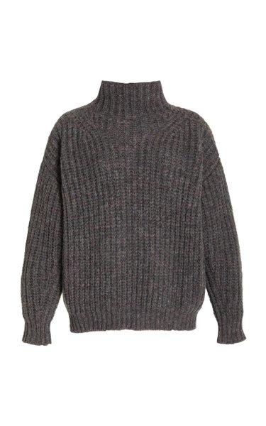 Iris Mockneck Alpaca-Blend Sweater