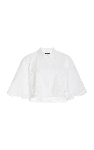 Derron French Embroidery Top
