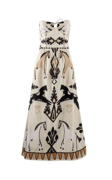 Country Life Organic Cotton Midi Dress