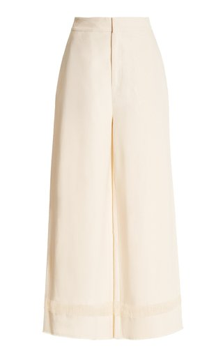 Marne Cotton Wide-Leg Trousers