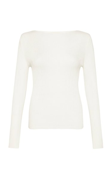 Dore Ribbed-Knit Top