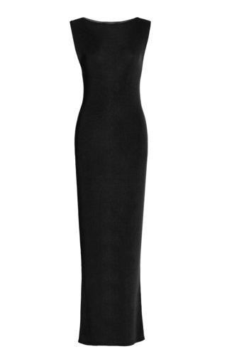 Vas Ribbed-Knit Maxi Dress