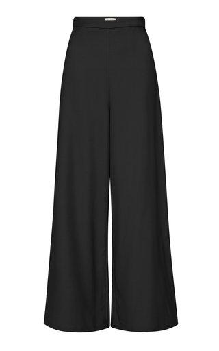 Aude Wool Wide-Leg Trousers