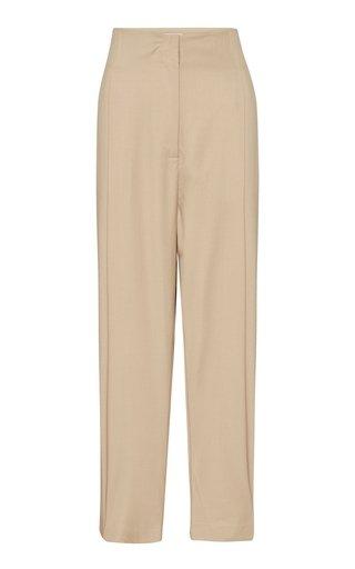 Ugo Pleated Wool Culotte Trousers