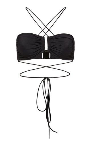 Tie-Detailed Bikini Top