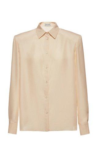 Structured Silk Shirt