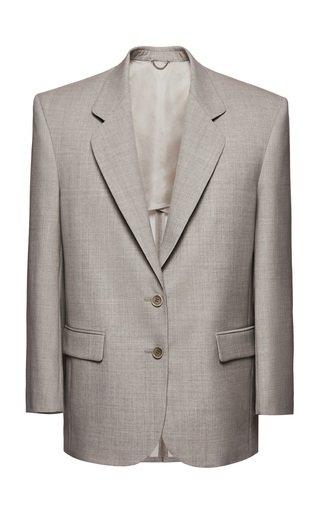 Structured Wool Blazer