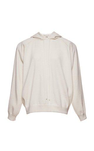 Hooded Cashmere-Cotton Sweatshirt