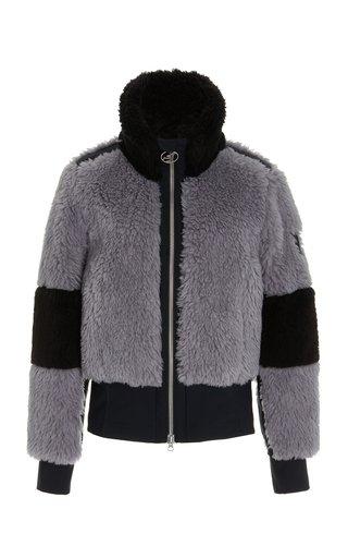 Linea Wool-Cotton Sherpa Jacket