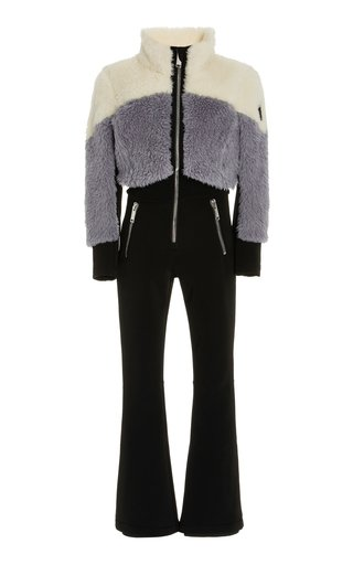 Eve Sherpa and Shell Ski Suit