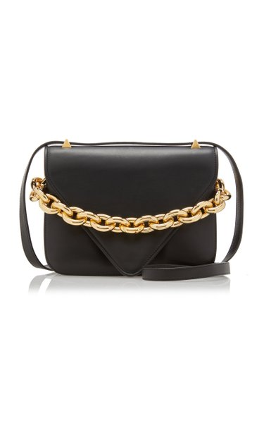 The Mount Small Leather Shoulder Bag