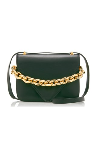 The New Chain Small Leather Shoulder Bag