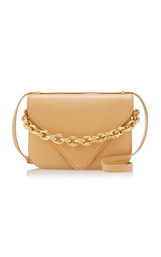 The New Chain Large Leather Shoulder Bag