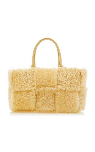 Arco Small Shearling Tote Bag