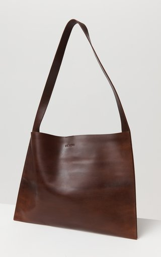 Moon Sling Leather Tote