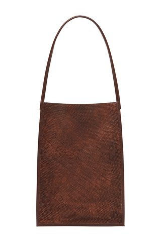 Nona Woven Sling Leather Tote