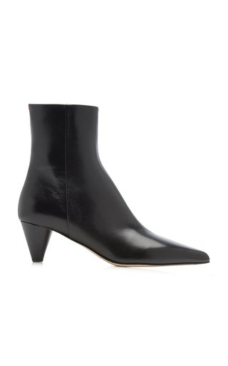 Carly Leather Ankle Boots