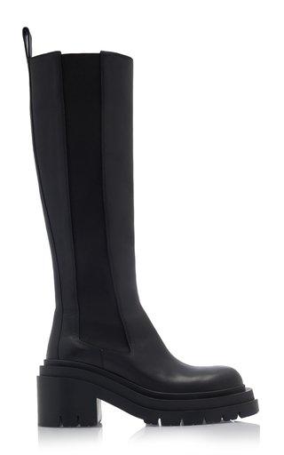 Lug Knee High Boots