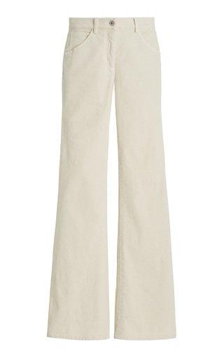Celia Stretch-Cotton Corduroy Wide-Leg Jeans