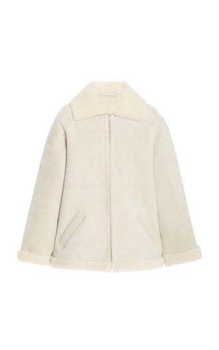 Brian Shearling Coat