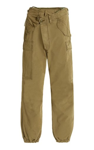 Crossover Cargo Cotton Pants