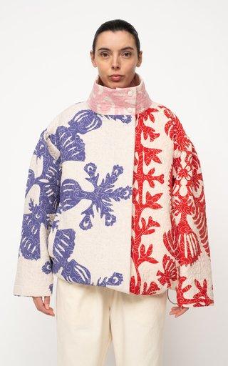 Henrietta Printed Quilted Cotton Jacket