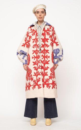Henrietta Longline Quilted Cotton Coat