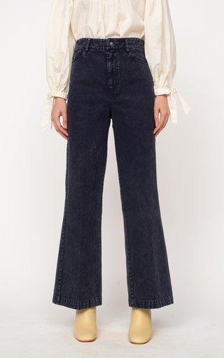 Maura Rigid Flared Denim Jeans