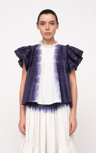 Everlyn Tie Dye Cotton Top