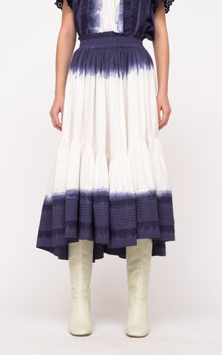 Everlyn Tie Dye Cotton Skirt