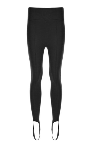 Knit Skinny Stirrup Pants