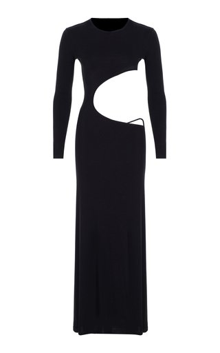 Cutout Jersey Gown