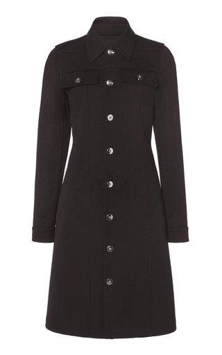 Double Calvary Wool Stretch Coat