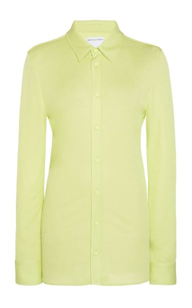 Collared Jersey Sable Shirt