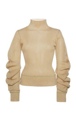Lightweight Spirals Knit Sweater