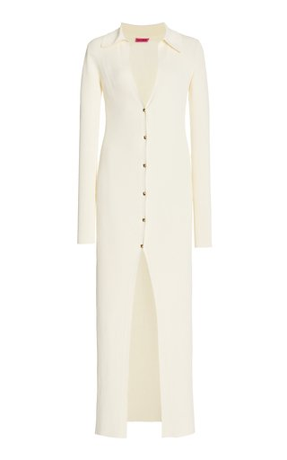 Rubi Ribbed-Knit Maxi Dress